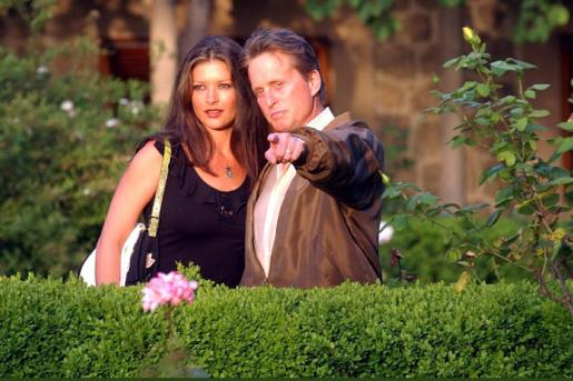 Catherine Zeta-Jones y Michael Douglas vistan Valldemossa.