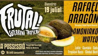 DJ Rafael Aragón en concierto en Sa Possessió en el evento Frutal!