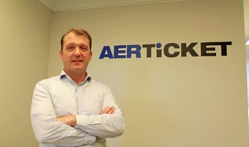 Stephan Ebert es el director ejecutivo de Aerticket en España.