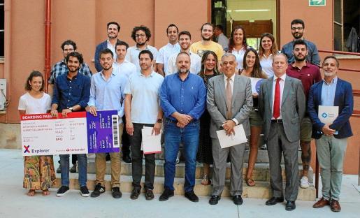 Explorer UIB Palma Space premia el talento emprendedor de Balears. En esta edición se han desarrollado 14 proyectos emprendedores.