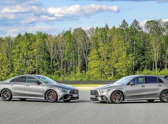 Mercedes AMG CLA 45 4MATIC, un nuevo deportivo