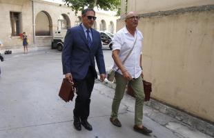El juez Manuel Penalva y el fiscal Miquel Ángel Subirán