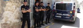 Tres detenidos en un laboratorio de marihuana en Maria de la Salut