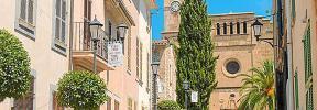 El centro de Sant Llorenç queda cerrado al tráfico de vehículos hasta el 15 de septiembre