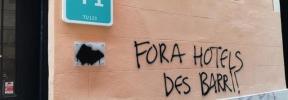 Nuevas pintadas antituristas en Palma