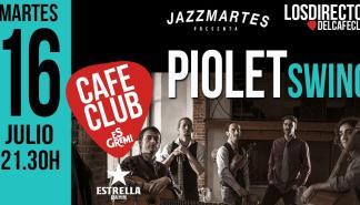 Jazzmartes presenta a Piolet Swing en los directos de Es Gremi