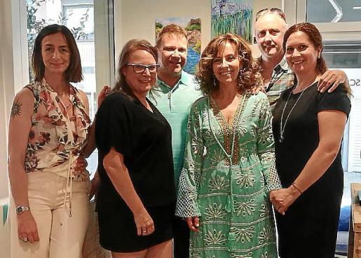 Silke Blum, Inka Kunsela, Kai Kunsela, Pilar Garcia, Jose Antonio Roa y Carmen Pozo.