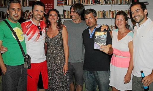 Juan Luis Crespí, Toni Mas, Toñi Márquez, Gabriel Bonet, Pau Forner, Victoria Estepa y Javier Rosselló.