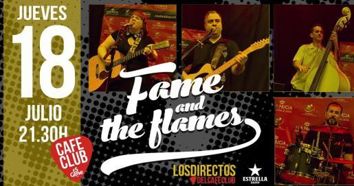 Fame & The Flames en concierto en Es Gremi