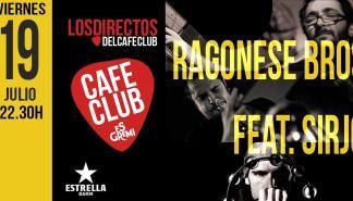 Ragonese Bros y Sirjo ofrecerán un concierto conjunto en los directos de Es Gremi