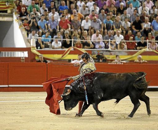 Imagen de archivo de una corrida de toros en el Coliseo Balear.