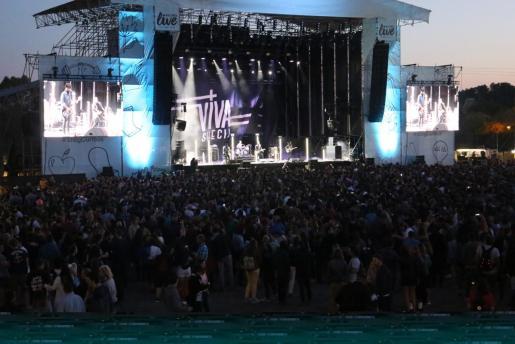 Imagen de uno de los conciertos de la pasada edición del Mallorca Live Festival.