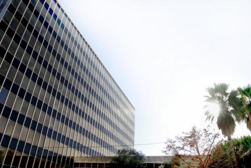 Fachada del polémico edificio de Gesa.