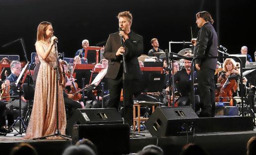 Lydia Fairén y Gerónimo Rauch se metieron al público en el bolsillo con sus excelentes interpretaciones.