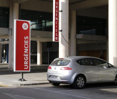 Imagen de los accesos al servicio de Urgencias de Son Espases.