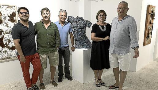 Ernesto Rodríguez, Jaume Caldentey, Martí Truyols, María Magdalena Marimon y Rafael Matas.