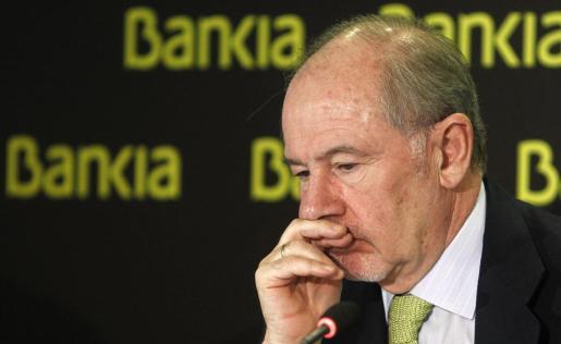 Fotografia de archivo, tomada el 10/2/2012, del expresidente de Bankia Rodrigo Rato.