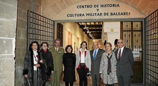 Elena Ruano, Catalina Cirer, Teodoro Pou, Margarita Ferrando, María José Bauzà, Ramon Rotger, María Antonia Martí y Miguel Rotger.