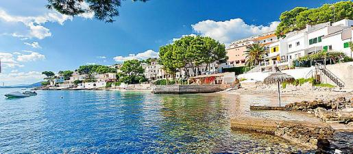 Este lugar es una opción de relax ante las playas masificadas.