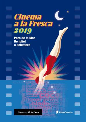 Cartel del Cinema a la Fresca 2019.