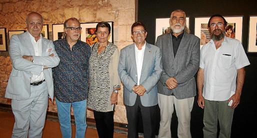Joan Guaita, Andreu Manresa, Carmen Serra, Llorenç Huguet, Antonio Morales y Bernat Monserrat.