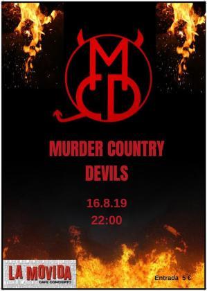 Murder Country Devils en concierto en La Movida