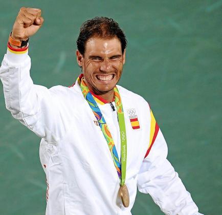 Rafael Nadal logró el oro en dobles en Río.