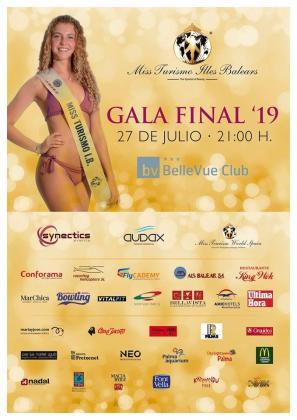 El Puerto de Alcúdia acoge la final del certamen para escoger la Miss Turismo 2019.