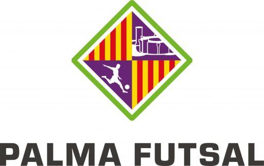 Imagen del renovado escudo del Palma Futsal.
