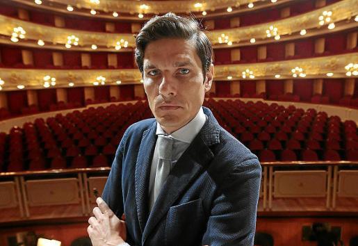 Carlos Forteza, exdirector del Teatre Principal de Palma, en una imagen de archivo.
