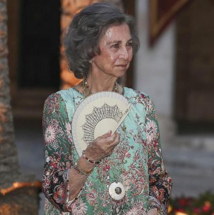 Doña Sofía en un acto celebrado el pasado verano.