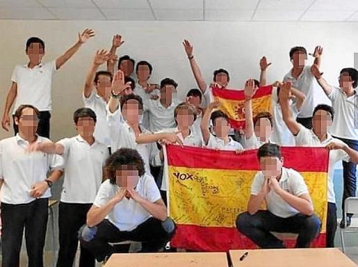 Esta foto de alumnos del Colegio Aixa-Llaüt motivó la puesta en marcha del taller que ofrecerá el Consistorio palmesano a los centros a partir del próximo curso.