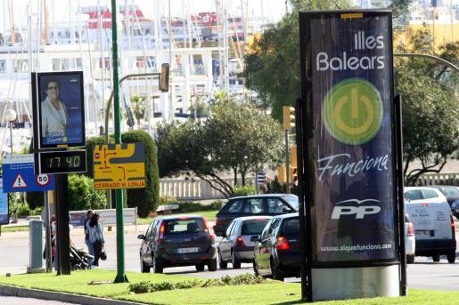 El lema elegido por el PP en 2007 fue 'Funciona'.