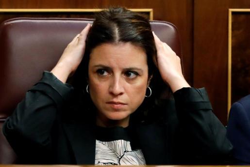 La portavoz socialista, Adriana Lastra.