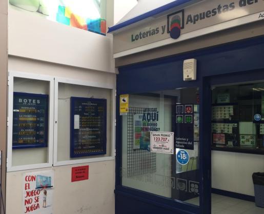 La administración de Loterías nº38 de Palma ha repartido más de 120.000 euros.