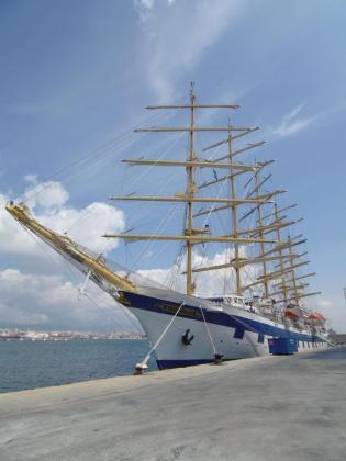 El 'Royal Clipper', el velero más grande del mundo.