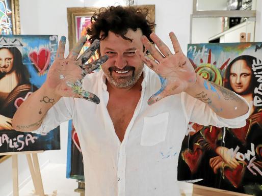 «Estoy trabajando en una escultura para la ciudad de Palma, estará en el Passeig Marítim»