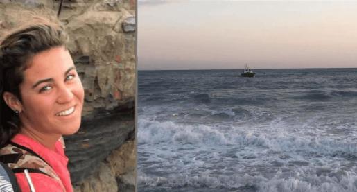 Macarena, a la izquierda. A la derecha, vista de la barca de salvamento que colaboró en el rescate.