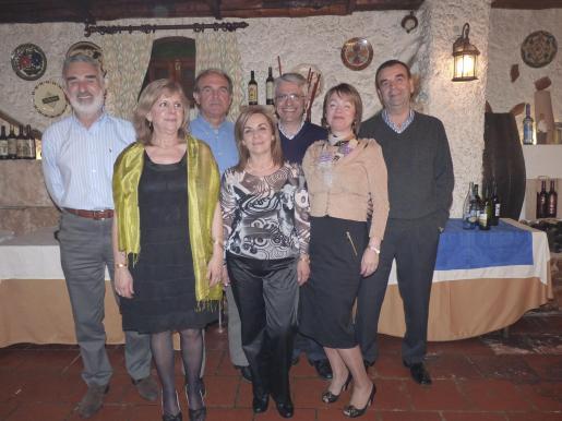 José Ramón Pérez, Isabel Bauzá, Pep Lluís Forteza, Antonia Crespí, Antoni Tomás, Zorica Jevtovic y Bernardí Barceló.