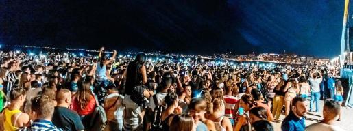 Más de 8.000 personas acudieron al concierto celebrado el pasado fin de semana en ses Fontanelles, en Palma.