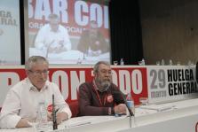 CCOO Y UGT CONVOCAN HUELGA GENERAL PARA EL 29 DE MARZO CONTRA LA REFORMA LABORAL