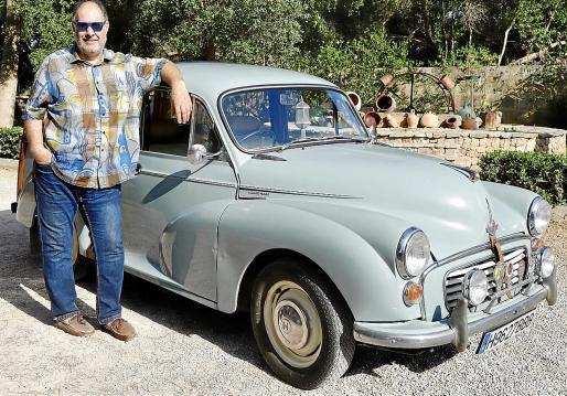 Guillermo Alvite, se considera un gran amante de los clásicos y en especial de los coches ingleses.