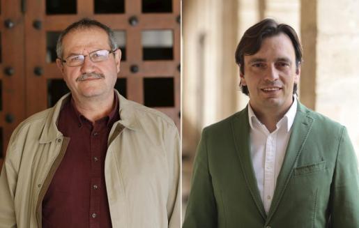 Mateu Morro y Francesc Miralles.