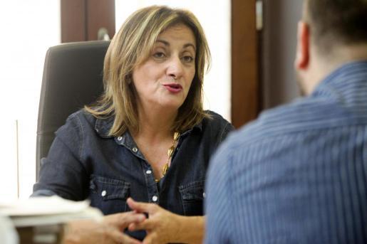 IBIZA - Fanny Tur, Consellera de Cultura, Participacio i Esports