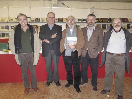 Javier del Hoyo, Sebastià Serra, Vicenç Matas, Miguel Font Poquet y Andreu Muntaner.
