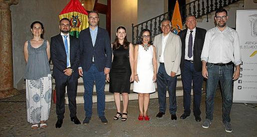 Antonia Martín Perdiz, Joaquín Estrella, José Hila, Aurora Ribot, Maya Nemtala, Jorge Ramiro Tapia, Juan Cifuentes y Antoni Noguera.