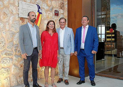 Jaume Monserrat, Francina Armengol, Cristóbal Rosselló y Juan Jesús Alcaide.