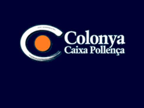Logotipo de Colonya, Caixa Pollença.