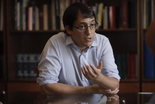 El conseller de Model Econòmic, Turisme i Treball, Iago Negueruela.