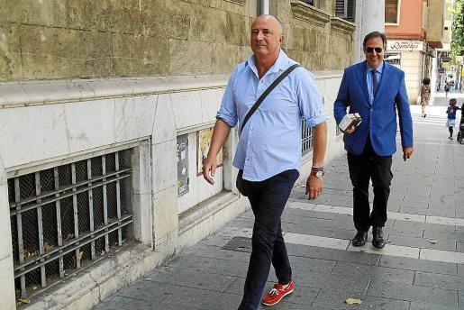 El fiscal Miguel Ángel Subirán y el juez Manuel Penalva.